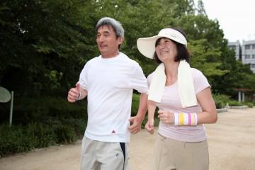 健康に役立つ運動。