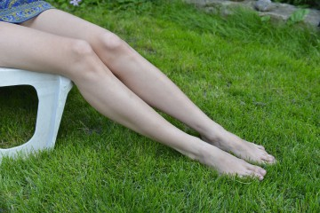 ほっそり足をキープ!お風呂上がりにするむくみ解消マッサージ。