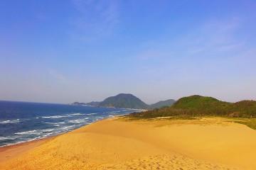 砂浜にて・・・・・